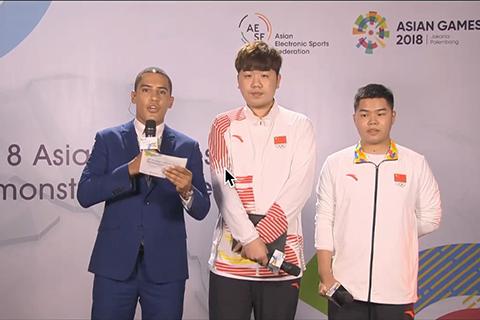 亚运会AOV中国队2比1挺进总决赛,教练奶茶:扛住,我们就能赢!